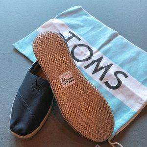 Toms Navy University Stripe Navy